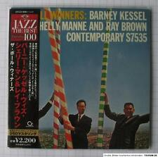 BARNEY KESSEL - The Poll Winners DSD REMASTERED JAPAN MINI LP CD NEU! UCCO-9261
