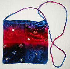 New Jordash Velvet Shoulder Bag - Hippy Ethnic Goth Tie Dye