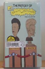 THE HISTORY of BEAVIS and BUTT-HEAD BUTTHEAD 2 VHS TAPE COLLECTION NEW & SEALED