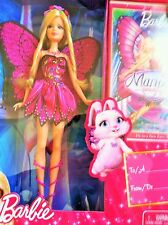 Brand New Barbie Mariposa and  and DVD Gift Set Mattel 2010 /T8102/good conditio