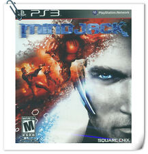 PS3 Mindjack Sony PlayStation Shooting Square Enix
