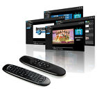 RF 2.4G Wireless Remote Control Keyboard Air Mouse For XBMC Android TV Box Black