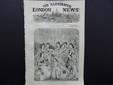 Illustrated London News Cover S7#10 Mar 1871 Waiting for Bride Princess Louise