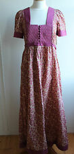 Liberty Fine Feathers Tana Lawn maxi dress, size 12