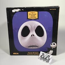 Neca Nightmare Before Christmas Faces Jack Skellington Clay Wall Mask Tim Burton