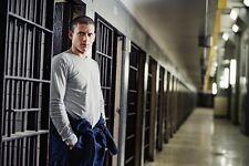 Prison Break Wentworth Miller By Bars Color Poster 11x17 Mini Poster