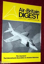 Air Britain Digest 1985 Nov-Dec P1127 Kestrel,Beech 18