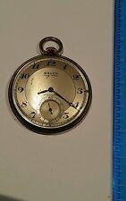 Antique Gruen veri-thin 17J. precision open face, pocket watch gold filled, runs