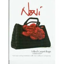 Noni Designs Felted Carpet Bags No. 100 by Nora Bellows Free Shipping!