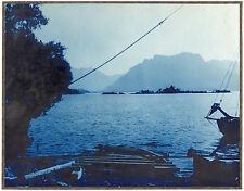 2 Photos Argentine - Lago Nahuel Huapi - Tirage argentiques d'époque 1930 -