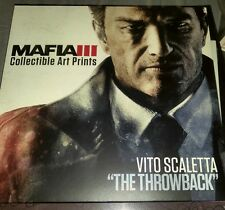 Mafia 3 III Collector's Edition Exclusive Collectible Art Prints Only