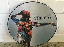 MICHAEL JACKSON - THIS IS IT - BRAND NEW  PICTURE DISC VINYL LP RECORD