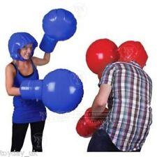 Inflable Juego De Boxeo Juguete y juego set de cascos Y Guantes