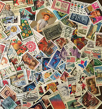 [Lot C5] 5 Lots of 100 Different Used US Stamps off paper (500 stamps total)