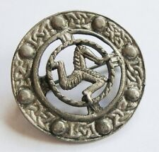 Vintage Isle of Man Triskelion Brooch or Pin