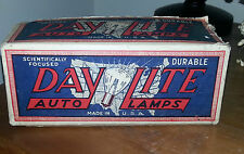 Old Advertising Box DAY LITE Auto Lamps Org Box & Org Packaging NOS 7 Bulbs