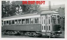 6G085 RP 1945/50s NIAGARA ST CATHARINES TORONTO RAILWAY CAR 106 ST CATHARINES ON