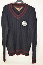 MENS TOMMY HILFIGER CRICKET SWEATER/KNITWEAR SIZE LARGE