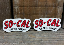 SO-CAL SPEED SHOP STICKER HOT ROD VTG STYLE GASSER DECAL RACING BELLY TANK SCTA