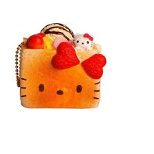 1 pc HELLO KITTY BLOCK TOAST ICE CREAM Squishy Charms toy with TAG