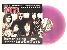 MC5 HUMAN BEING LAWNMOWER LP U.S. 2002 RARE PURPLE VINYL UNRELEASED SONGS