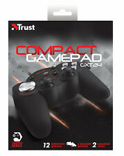 TRUST GXT24 COMPACT PC GAMEPAD, 2 JOYSTICKS, 8-WAY D-PAD 16 BUTTONS (4 SHOULDER)