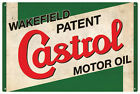 CASTROL WAKEFIELD MOTOR OIL VINTAGE  TIN SIGN