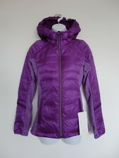 NWT LULULEMON TEVI Purple LTWT 800 Fill Goose Down For A Run Hooded Jacket 4
