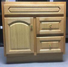 TBA All Wood Deluxe Oak Bathroom Vanity Cabinet Golden Oak LD-3021D