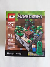 LEGO® Cuusoo 21102 Minecraft Micro World  NEU & OVP / new sealed