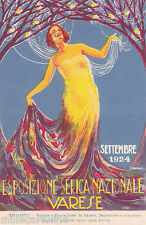 * VARESE - Esposizione Serica Nazionale, Settembre 1924 - Illustratore Didone