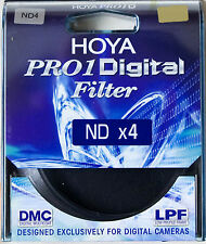 Hoya 77mm 77 Mm Pro1 DMC DIGITAL MULTI COATED ND4 Neutral Density FILTRO nel Regno Unito