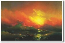 Ivan Aivazovsky -The Ninth Wave - 1850 - NEW Fine Arts Poster