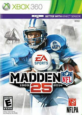 Madden NFL 25 (Microsoft Xbox 360, 2013) Video Game