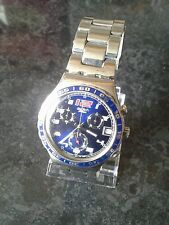 Large swatch irony chronograph. New battery,  Working Rrp £141.