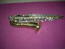 AMBASSADOR Alto Saxaphone,MADE in ITALY,NO DENTS,GREAT 4 BEGINNERS/INTERMEDIARY