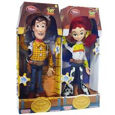 2 Disney Toy Story Jessie Woody  Pull String Talking English Phrases Doll Figure