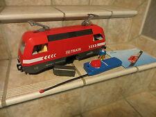 une locomotive train playmobil rc ou lgb compatible ref 5258