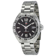 Tag Heuer Formula 1 Black Dial Stainless Steel Mens Watch WAZ1112.BA0875