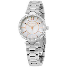 Wittnauer WN4019 Women's Stainless Steel Bracelet Mother of Pearl Dial Watch