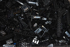 100 Mixed Black LEGO - Bundle Random Parts Pieces Bricks Joblot Starter Set