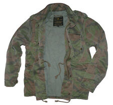 Alpha Industries Giacca Giacca Invernale m65 VF 59 WOODLAND CAMO CAMPO GIACCA taglia L [j3]