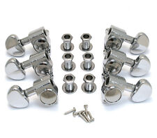 Wilkinson Chrome 3x3 Roto Style Full Size Tuners for Gibson/Epiphone® WJ-303-C