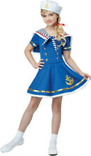 Sunny Sailor Girl Kids Costume Size Small 6-8