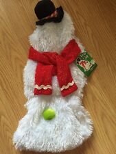 "PETCO Christmas/Halloween ""SNOWMAN"" Hoodie/Costume Puppy/Dog sm"