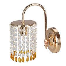 Modern Kristall Wand Lampe Spiegel Vorne Licht für Badezimmer Schlafzimmer
