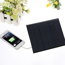 6v 3.5w 580-600MA Solar Panel USB Travel Battery Charger For Iphone FP5