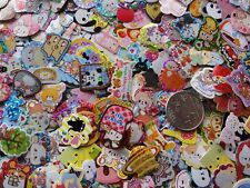 Deal Lot 200 cute kawaii flake sack stickers san-x crux q-lia japan sanrio kamio