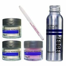 The Edge Nail Acrylic Liquid & Powder trial kit  sculpting monomer false nail