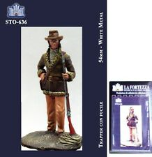 a LA FORTEZZA 54 mm - Trapper con fucile